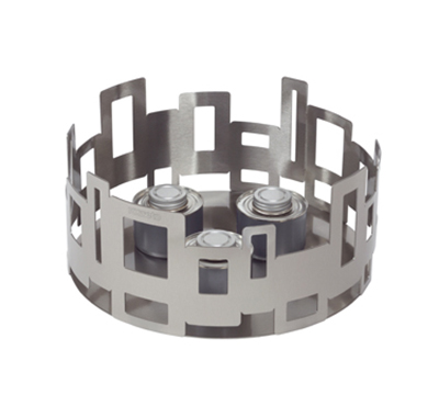 """Rosseto Serving Solutions SM100 14"""" Round Warmer/Chafer - 7"""" High, Stainless"""