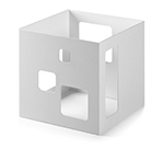 "Rosseto Serving Solutions SM148 7"" Cube Display Riser - White"