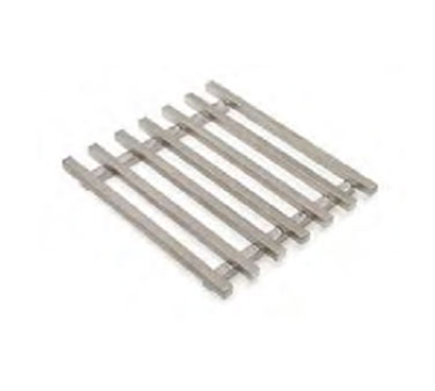 "Rosseto Serving Solutions SM179 8-1/2"" Square Grill - Track-Style, Stainless"