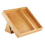 Rosseto SB111 Natura™ 3-Piece Tray & Stand Set, Bamboo