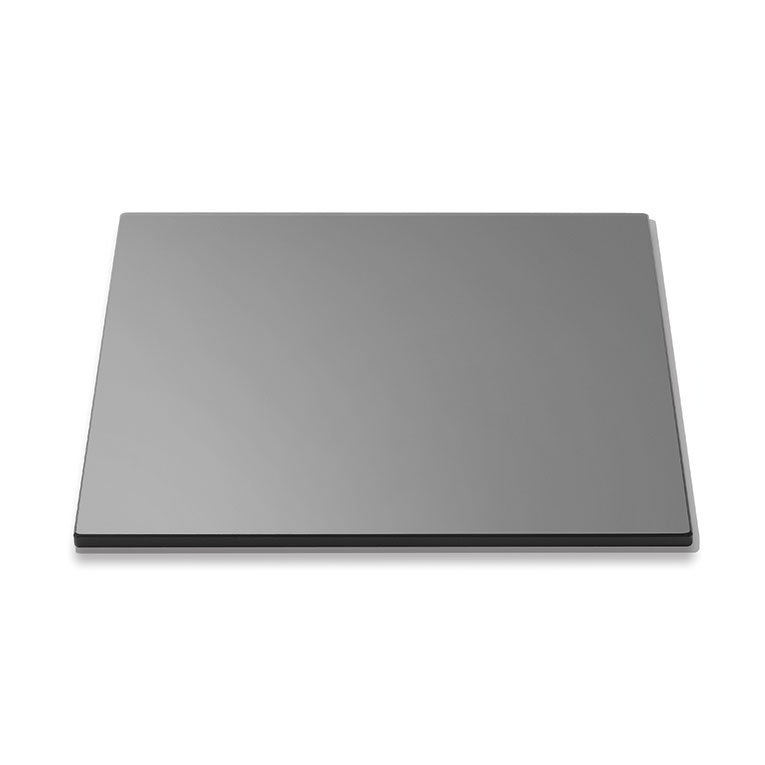 "Rosseto SG001 14"" Square Glass Display Platter - Black"