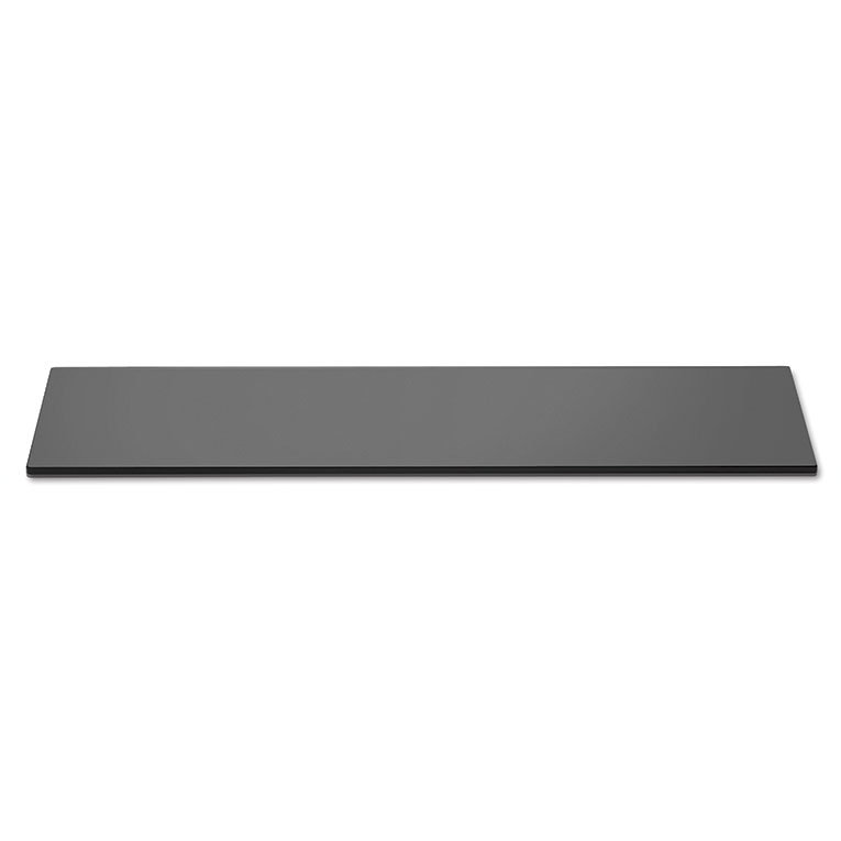 "Rosseto SG015 Rectangular Display Platter - 33-1/2x7-3/4"" Acrylic, Black"