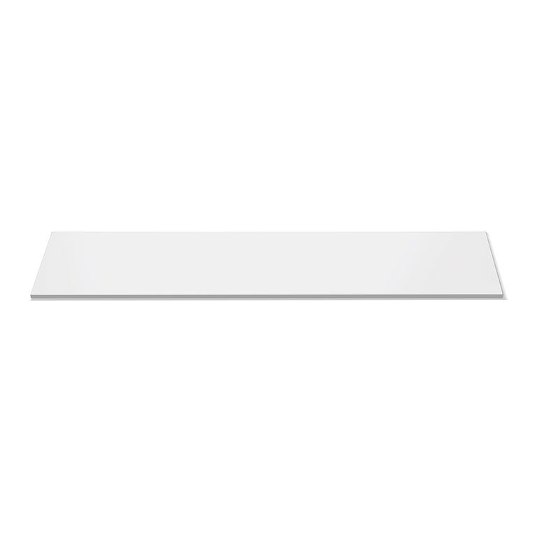 "Rosseto SG016 Rectangular Display Platter - 33-1/2x7-3/4"" Acrylic, White"