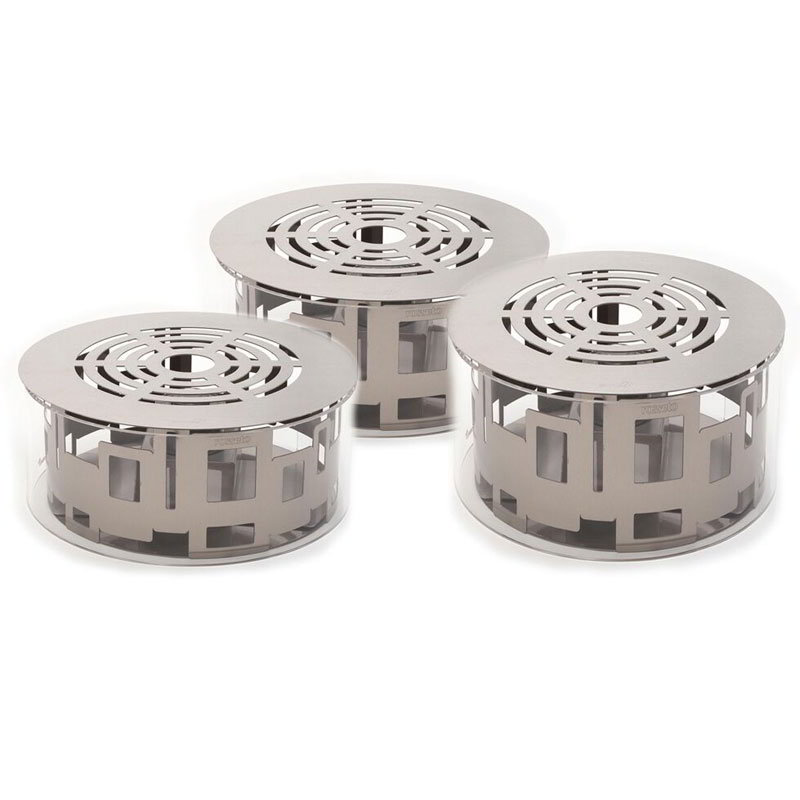 Rosseto SK020 10-piece Round Warmer Kit - Stainless