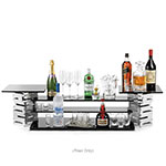 "Rosseto SM104 Multi-Level Display Riser - 6x6x12"" Chrome Plated"