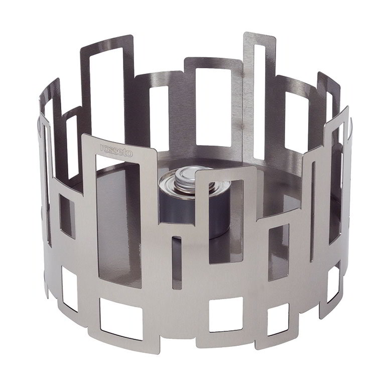 "Rosseto Serving Solutions SM110 14"" Round Warmer/Chafer - 10"" High, Stainless"