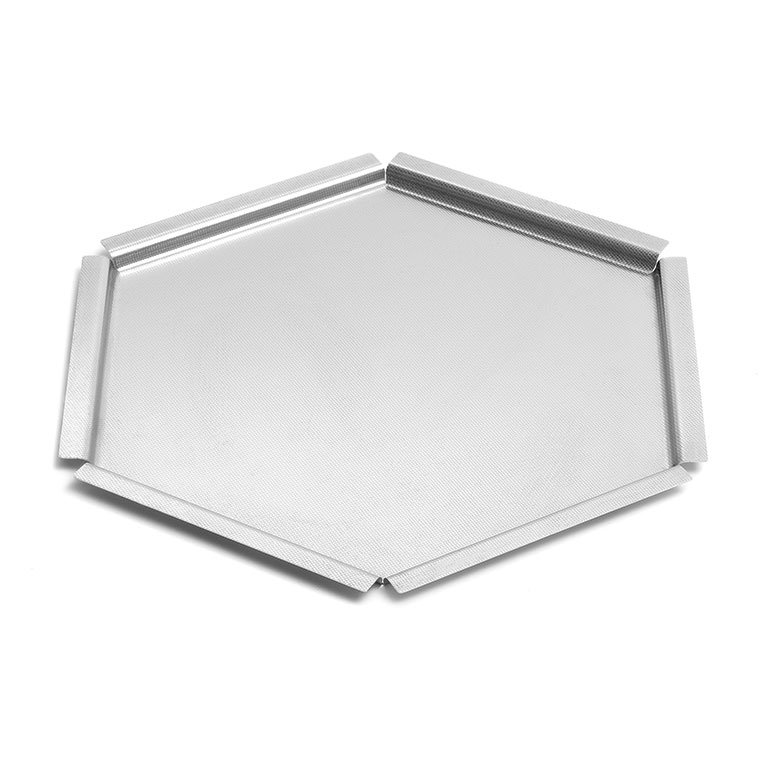 "Rosseto SM119 14-1/2"" Honeycomb Display Platter - Stainless"