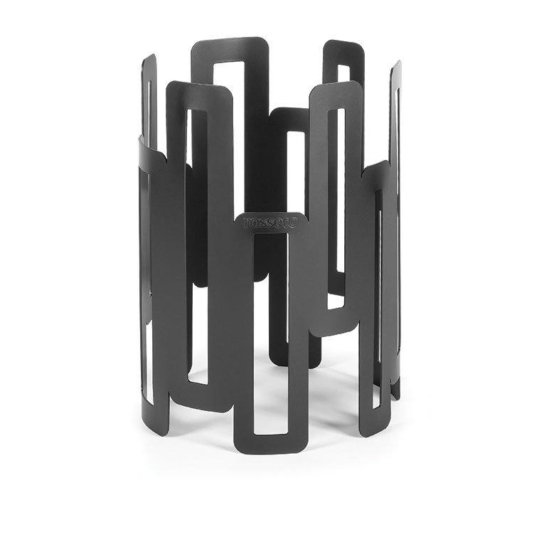 "Rosseto Serving Solutions SM126 8"" Round Display Riser - 11"" High, Black"