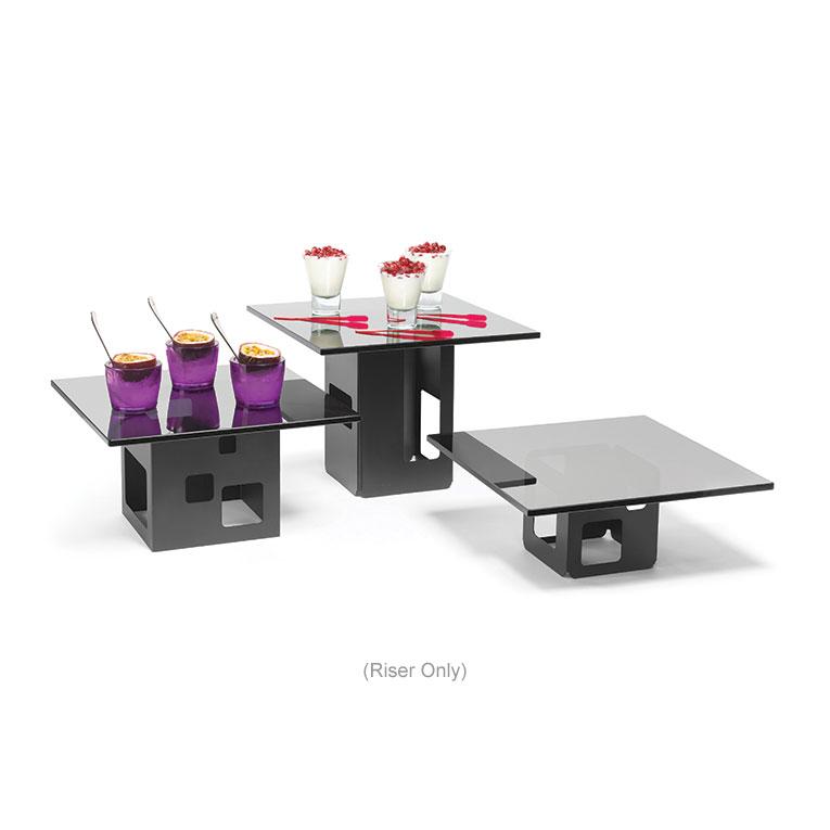 "Rosseto SM128 5-1/2"" Cube Display Riser - Black"