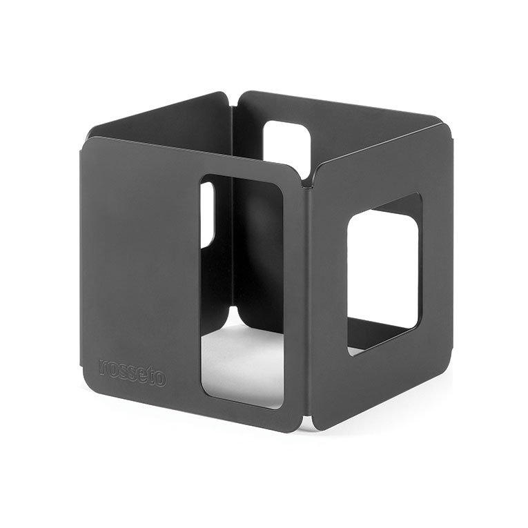 "Rosseto SM128 5-1/2"" Cube Display Riser - Black"