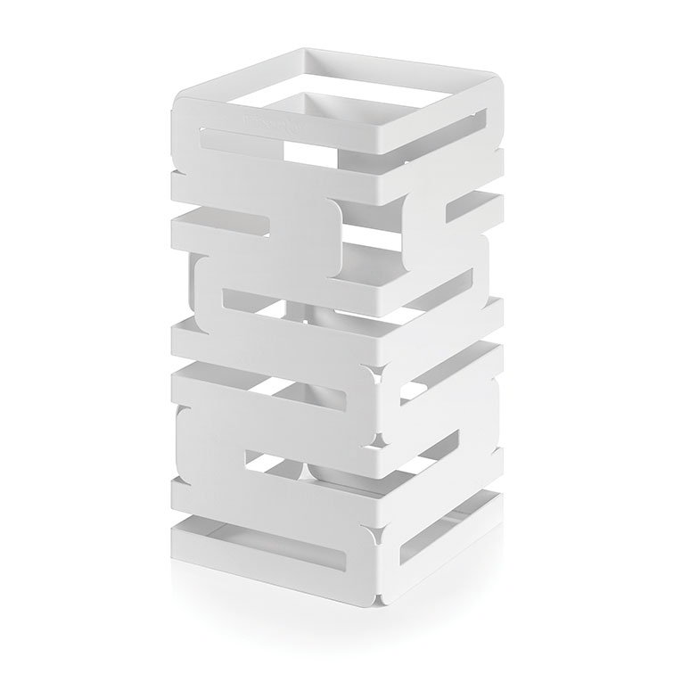 "Rosseto SM130 Multi-Level Square Display Riser - 6x6x12"" White"