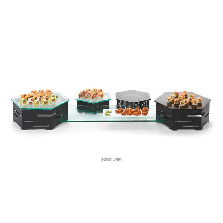 "Rosseto SM134 Honeycomb Display Riser - 16x16"" Black"