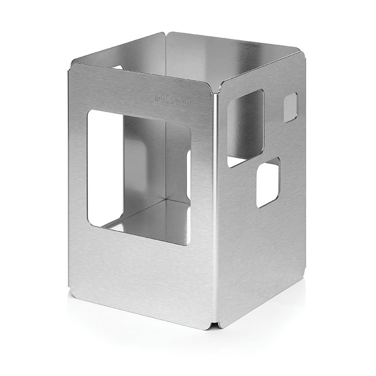 """Rosseto SM137 10"""" Square Buffet Warmer - Stainless"""