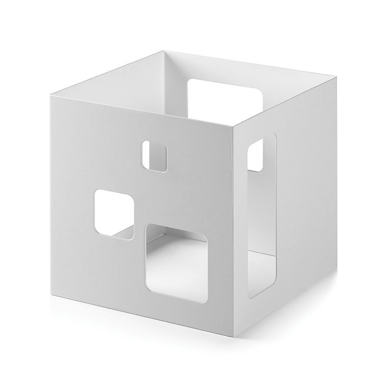 "Rosseto SM148 7"" Cube Display Riser - White"