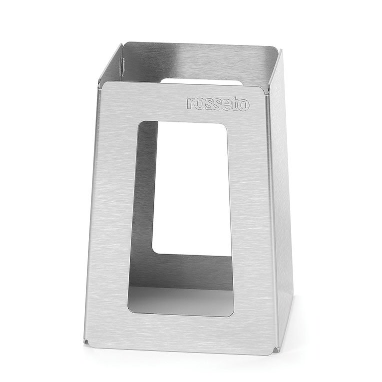 "Rosseto Serving Solutions SM150 7"" Pyramid Riser - Stainless"