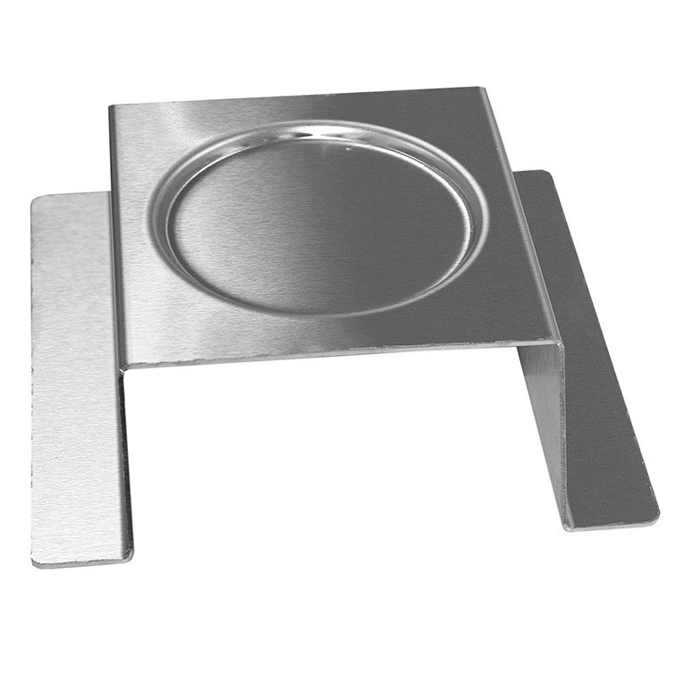 "Rosseto SM169 3"" Square Burner Stand - Stainless"