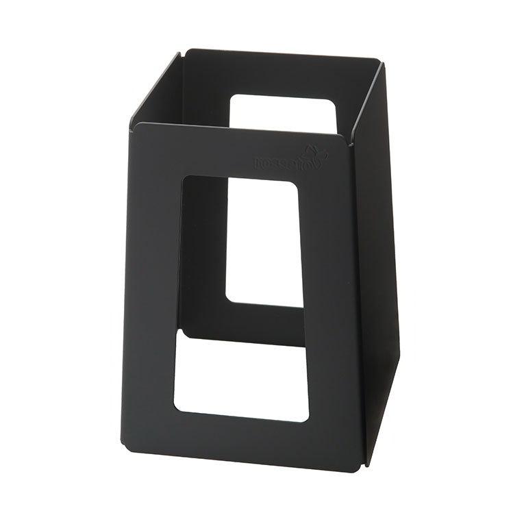 "Rosseto Serving Solutions SM175 7"" Pyramid Riser - Black"