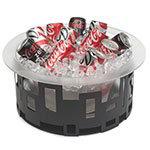"Rosseto SM181 17"" Round Ice Tub - Acrylic/Stainless"