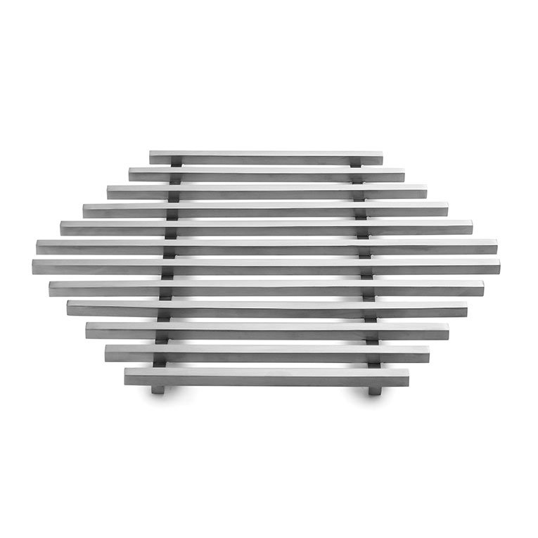 Rosseto SM223 Track Grill - Honeycomb Shape, Stainless