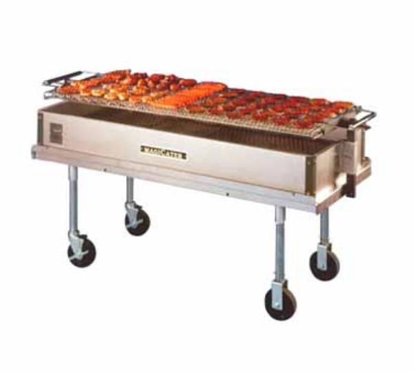 Backyard Grill Charcoal :  Grill Commercial Outdoor Grill 60 Mobile Charcoal Commercial Outdoor