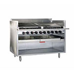 "Magikitch'n FM-RMB-660 60"" Radiant Charbroiler w/ Round Rod Top Grate, LP"