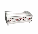 "Magikitch'n MKG-48-E NG 48"" Gas Griddle - Thermostatic, 1""  Plate, NG"