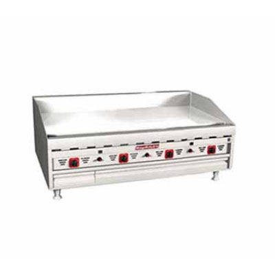 """Magikitch'n MKG-48-E 48"""" Gas Griddle - Thermostatic, 1""""  Plate, LP"""