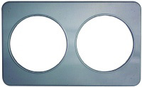 "Duke 32 Adaptor Plate - 2, 8.5""Holes - Stainless Steel"