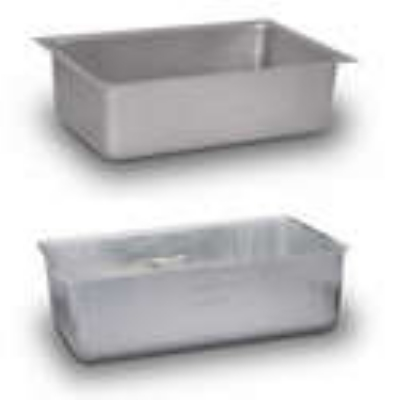 Duke 602 Aluminum Spillage Pan For Standard Thurmaduke Units w/ Top Plate, 12x20x6.24-in