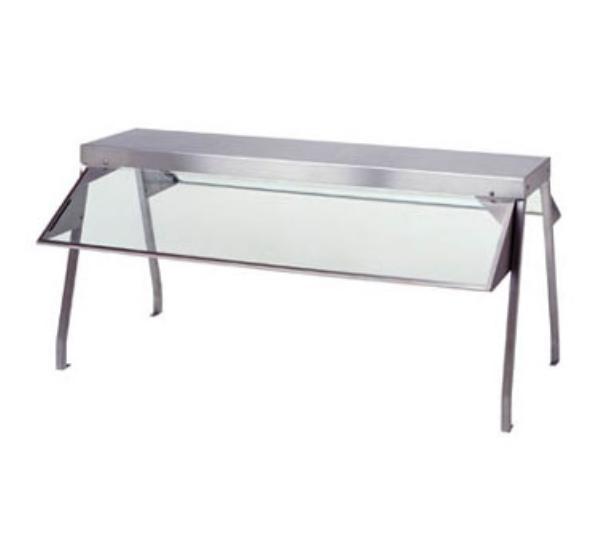 "Duke 839 Buffet Shelf, 73-3/8inLong x 10-1/2""Wide x 20inHigh, Stainless Construction"