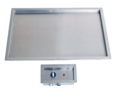 "Duke ADI-2HR Drop-In Heated Recessed Top, Holds (2) 18x26"" Sheet Pans, 21x56"""