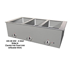 "Duke ASI-5E-SW Hot Food Unit, Slide-In w/ 5-Wells, 74.25 x 12.75"", All Stainless"