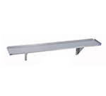 "Duke 1156-7210/18GA 72"" Wall Mounted Shelf, 18-Gauge Stainless"
