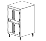 Duke 1262P 2403 Pass Thru Heated Holding Cabinet, 1-Thermostat Per 2-Compartment, Legs, 240/3 V