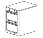 Duke 1302 2083 Reach In Heated Holding Cabinet, 1-Thermostat Per 2-Compartment, 208/3 V