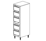 Duke 1305P 2401 Pass Thru Heated Holding Cabinet, 2-Thermostat Per 5-Compartment, Legs, 240/1 V