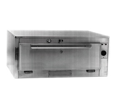 Duke 1351P 2083 Pass Thru Heated Holding Cabinet, 1-Thermostat Per Compartment, 208/3 V