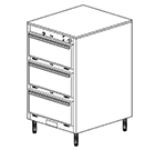 Duke 1453P 2403 Pass Thru Heated Cabinet, 1-Thermostat Per 3-Compartments, Legs, 240/3 V