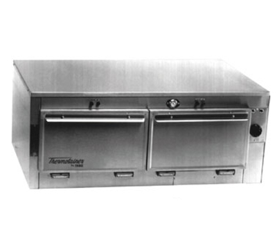 Duke 1652 2403 Reach In Heated Cabinet, 1-Thermostat Per 2-Compartment, 9x22x28.5-in, 240/3 V