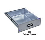 Duke 176 Deluxe Drawer w/ Galvanized Liner, On Ball-Bearing Roller Slides