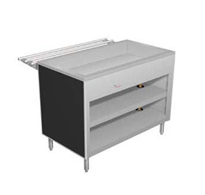 "Duke 313-25SS 46"" Cold Food Unit w/ Deep Ice Pan, Stainless Top, Body & Shelf"