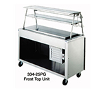 Duke 334-25SS 120 24.5-in Frost Top Unit w/ Stainless Top, Body, Undershelf & 6-in Legs, 120 V