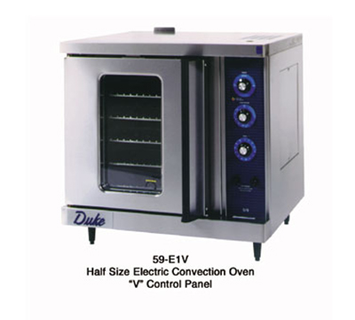 Duke 59-E3XX Half-Size Countertop Convection Oven, 240/1ph