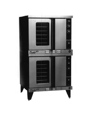 Duke 613-E2V Double Full Size Electric Convection Oven - 208v/3ph