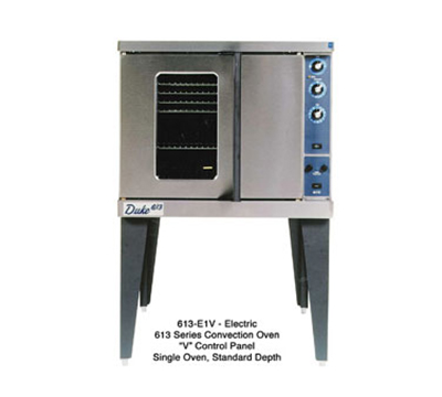 Duke 613-E1V Full Size Electric Convection Oven - 208v/3ph