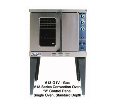 Duke 613-G1V Full Size Gas Convection Oven - NG