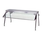 "Duke 838 Buffet Shelf w/ 2-Sneeze Guards, 1/4"" Acrylic End Guards, 58.37x10.5x20"""