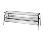 "Duke 986 Glass Display Shelf w/ 1/4"" Acrylic End Guards, 86.37x16x20"""