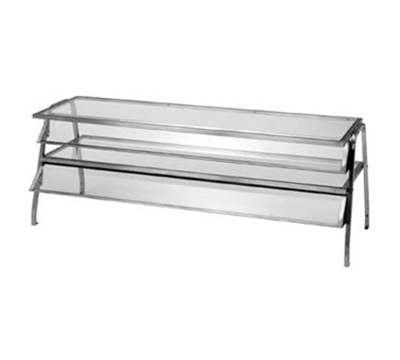 "Duke 982 Glass Display Shelf w/ 1/4"" Acrylic End Guards, 30.37x16x20"""