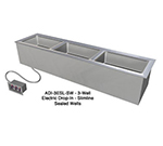 "Duke ADI-1ESL-SW 240 24.25"" Hot Food Drop In Unit w/ (1) 12x20"" Sealed Well, 240/1 V"